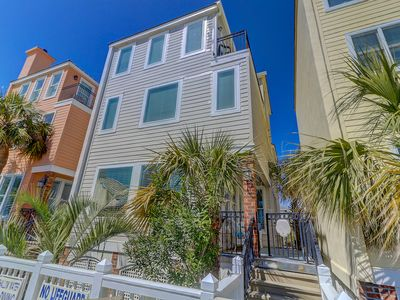 Photo for Oceanfront & Boardwalk Poolside Home - Walk to Many Wild Dunes Amenities!