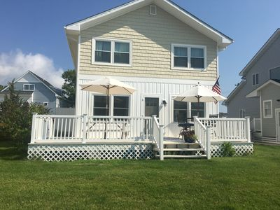 Photo for Beautiful waterfront home, walking distance to Fenwick and quiet South Bethany