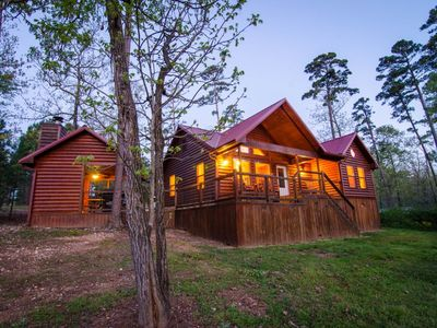 Photo for Hickory Hill Cabin at the Pond(2 Bedrm)
