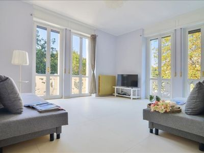 Photo for Bacone Olimpia apartment in Città Studi with WiFi, balcony & lift.