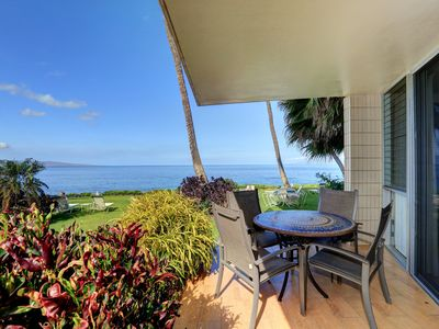 Photo for Steps to the Beach - Oceanfront Views - Starting @ $295/nt - Kamaole Nalu #106