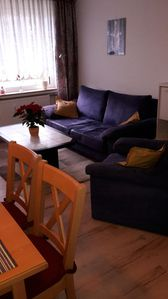 Photo for Apartment on the Avenue of the North Sea spa Cuxhaven Kurpark-Döse. 500 m to the beach.