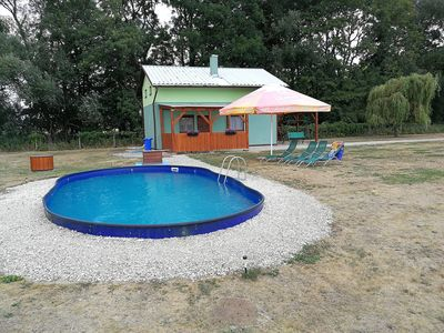 Photo for Holiday house with an outdoor pool