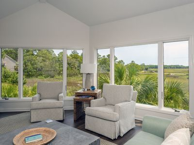 Fantastic 3 BR/2 BA Villa With Spectacular Marsh Views! Amenity Cards Included!