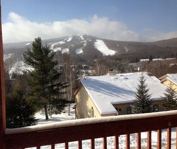 Photo for Mount Snow Condo at Snow Mountain Village; Great Views, Free shuttle, Pool.