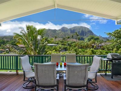 Photo for Great Mountain & Waterfall Views, Less than 2-Minute Walk to Beach