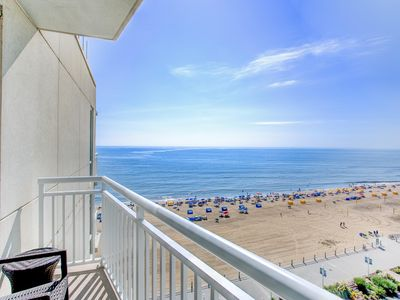 Photo for Modern Ocean View Suite w/ Private Balcony, Jetted Tub, Free WiFi & Resort Pools