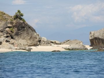 Anawangin Cove, Central Luzon, Philippines