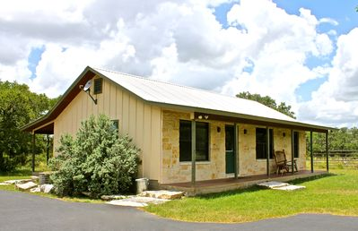 Photo for Private Cabin on 200 Acre Ranch w/Hot Tub,  Only 3 Miles to Wimberley Square