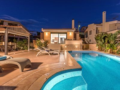 Photo for Luxury Villa Solaris With Private Pool,  150 Meters From The Beach.