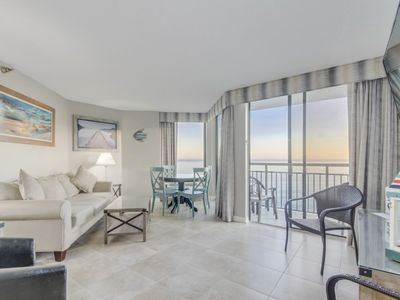 Photo for Ocean Front One Bedroom Penthouse Condo at Patricia Grand