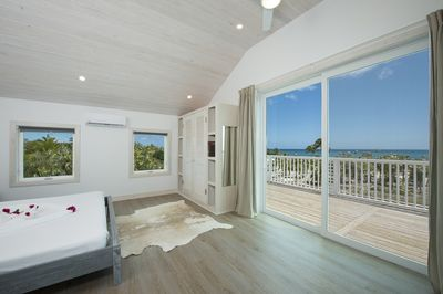 King bedroom suites, with an enormous private deck and a luxuriously appointed full bath.