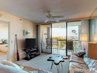 Photo for Comfortable condo with three shared pools and a hot tub!