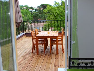 Photo for Rent very nice apartment with terrace 250 meters from the thermal baths