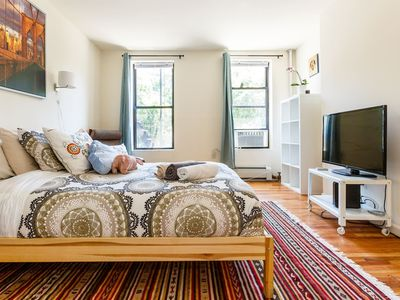 Photo for Bright 2BR 2BA Overlooking the Park! #views #area - Two Bedroom Apartment, Sleeps 6
