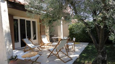 Photo for holiday villa 110m2 situated in residential and quiet area of ​​St Raphael