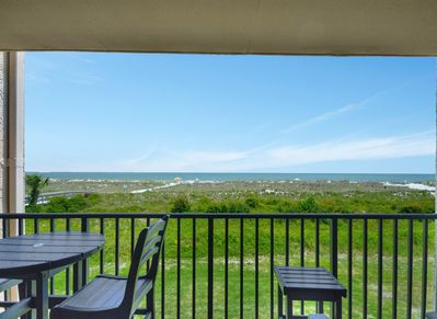 Balcony and Views off Living Room at 2203 Island Club