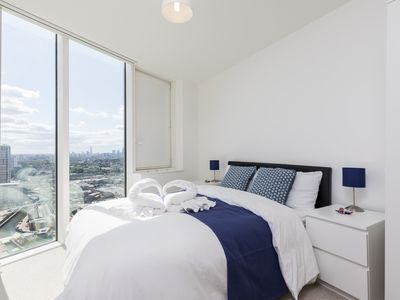 Photo for Stunning apartment on 30th floor in London Olympic park