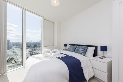 Main bedroom with beautiful view