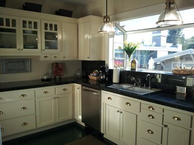 Kitchen in  the Craftsman style.