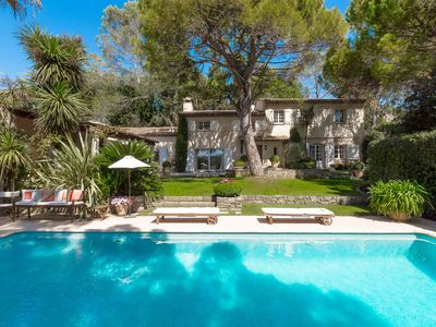 Photo for MOUGINS VILLA Font de l'Orme POOL & TENNIS