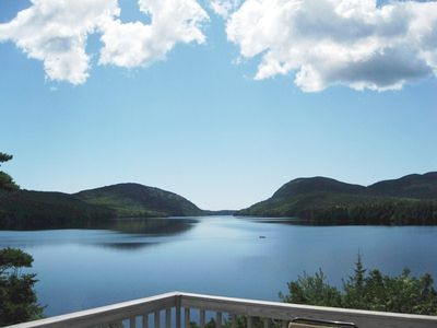 Photo for Top O' The Ridge - Private, Long Pond, Acadia, Lakefront with Spectacular View