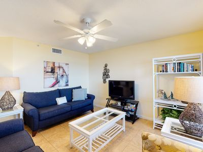 Photo for Airy, Gulf Front Condo w/ Beach Chairs Included, Close To Dining