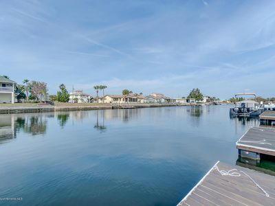 Photo for Deep water 3 bedroom 2 bath canal house with 2 boat docks