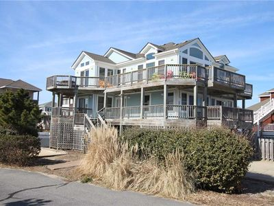 Photo for #OS5: Partial OCEANVIEW Corolla w/PRVTPool, HotTub & RecRm, DogFriendly