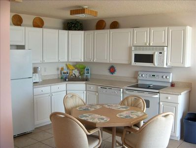 Kitchen includes a dishwasher