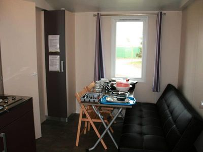 Photo for Camping Rochat *** - Mobile home Privilège 3 Rooms 6 People