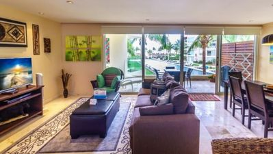Photo for Elegant Ocean View Perfectly Situated Just Steps From Pool & Beach
