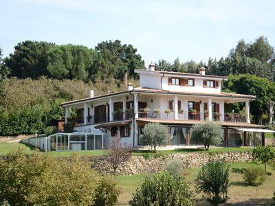 Photo for Relaxing Rural Villa close to Rome and to many local attractions