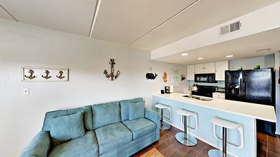 Photo for Contemporary Condo w/ Balcony and Shared Pool Access - 2-Minute Walk to Beach