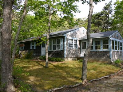 Photo for Pet-Friendly Ranch,AC,Lg. Deck, 5 minutes to Nauset Light Beach
