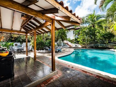 Photo for Just Steps to Sand & Surf - 3 BR House in Garden Estate - Pool, Private Patio