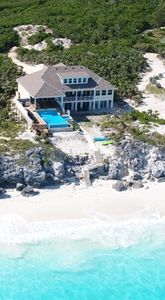 Photo for Brand New! 7000 square feet of Luxury on a Spectacular Private Beach!