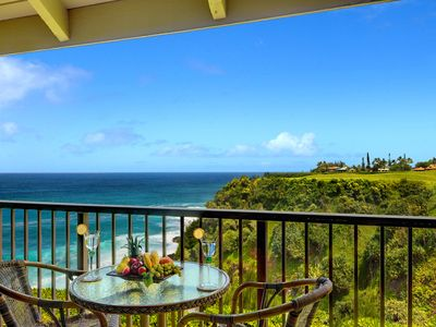 Photo for Pali Ke Kua #227 - Amazing ocean front views - access to private beach