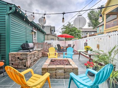 Photo for Eclectic Home w/ Firepit & BBQ - Steps to Mass Ave
