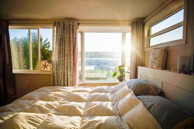 Wake up to a stunning view of the Poulsbo marina