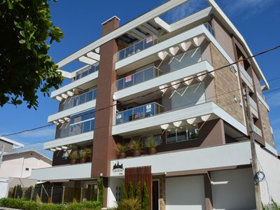 Photo for Beautiful Apt 2 Suites - New - A few steps from the sea in Canto Grande Bombinhas / SC