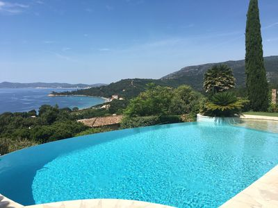 Photo for ON CAPE NEGRE VILLA CLASSEE 4 **** + T2, infinity pool and sea view