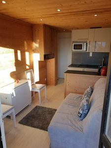 Photo for Cozy atmosphere apartment - panoramic mountain view - 50m alpe express