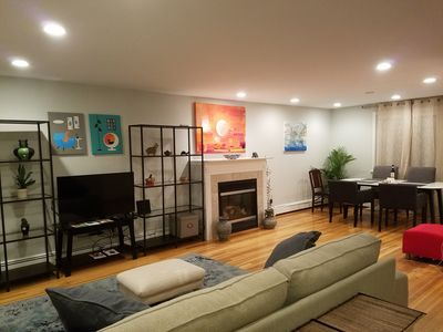 Photo for Best of Boston Spacious Modern Comfy Porch Jacuzzi Near Buses BC BU Downtown