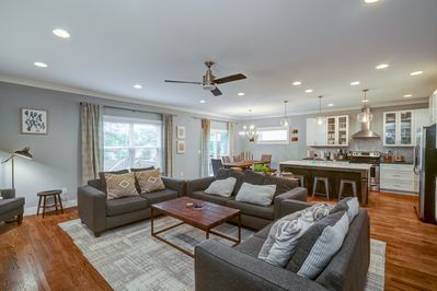 Living Area - Welcome to Nashville! This brand-new home is professionally managed by TurnKey Vacation Rentals.