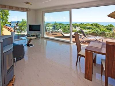 Photo for Penthouse 6 - Villa Ostseeblick 5 * with sea and Boddenblick