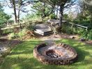 Private Yard and Fire Pit