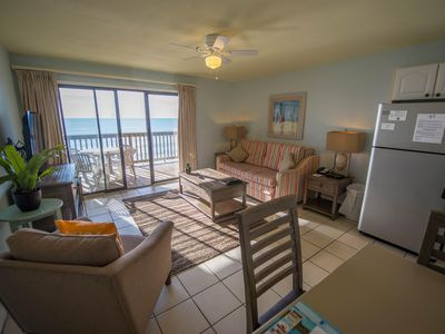 Photo for Luxury Condo near Beach w/ WiFi, Deck & Resort Pool