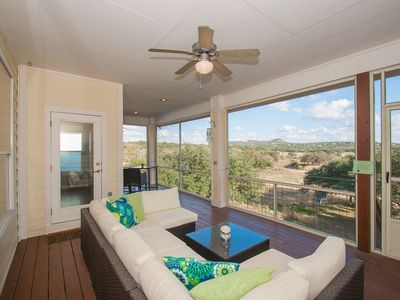Photo for Miles of views Screened in Porch! A Summer Breeze Canyon Lake!