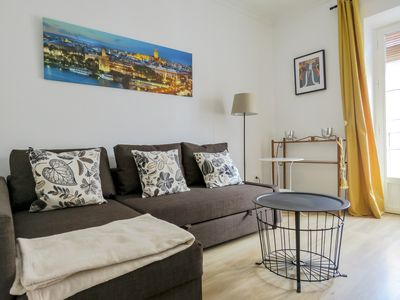 Photo for F2 3 bedrooms Apartment with Balcony / WIFI / Air Conditioning / Kitchen in Historic Center